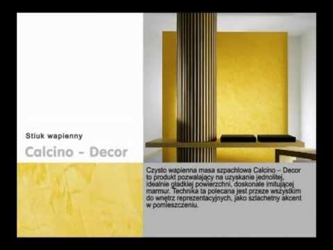Caparol - Stiuk wapienny Calcino-Decor