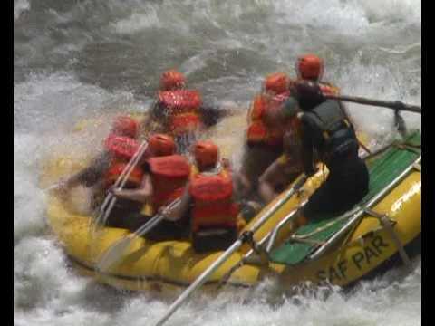 Rafting de l'extreme sur le Zambeze