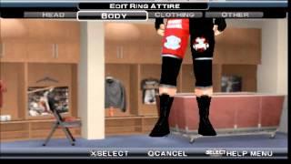 WWE SMACKDOWN VS. RAW 2011 Brock Lesnar Caw Formula P.S.P
