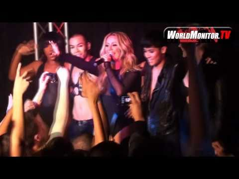 Aubrey O'day's first solo performance after Danity Kane at Ultra Suede-Cherry Pop