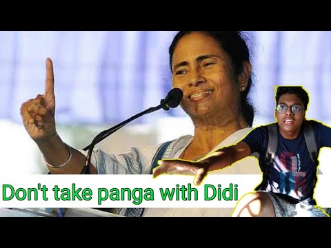 What happen when you Take Panga With Didi    FT: মমতা ব্যানার্জী    Funny video