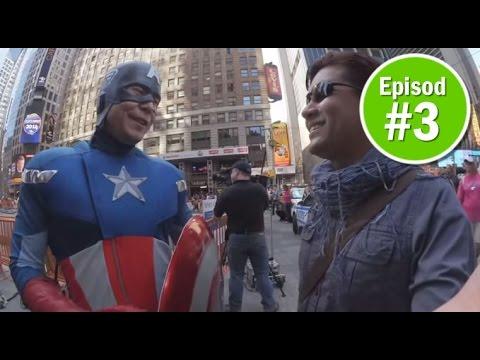 KEMBARA SELFIE: New York bersama IK. Episod 3