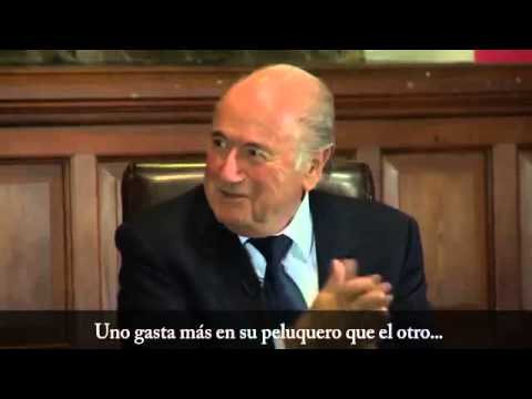 Cristiano Ronaldo ● The Commander ● Sepp Blatter, Who is the best? I am the best 2013/14
