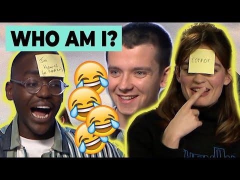 Sex Education cast play 'WHO AM I?' | Ncuti Gatwa, Asa Butterfield & Emma Mackey