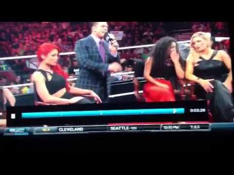 WWE Bella Twins Wardrobe Malfunction