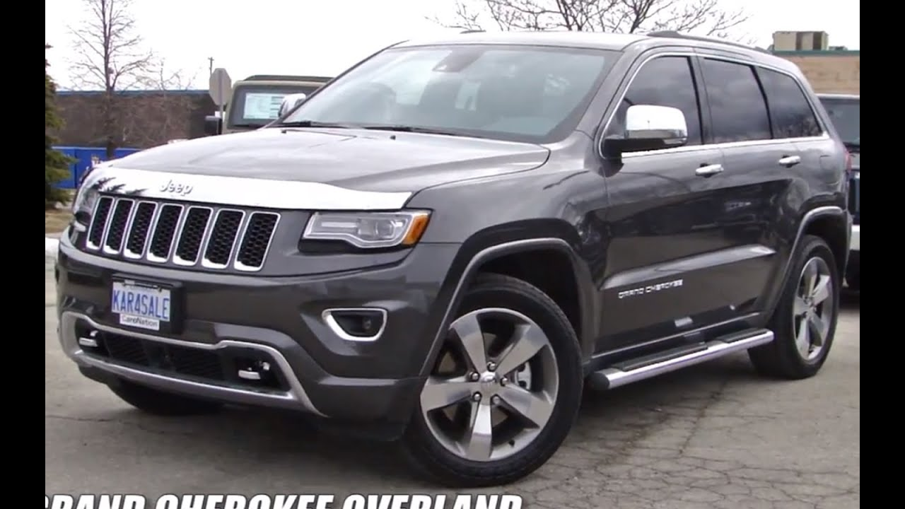2014 jeep grand cherokee overland vs limited. Black Bedroom Furniture Sets. Home Design Ideas
