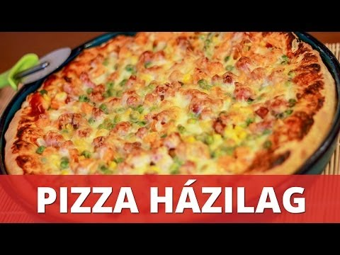 Pizza házilag recept videó (Homemade Pizza)