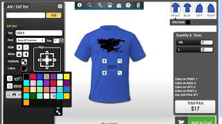 Design Shirts Online For Free | T Shirt Design Software All In One Product Designer Deprecated