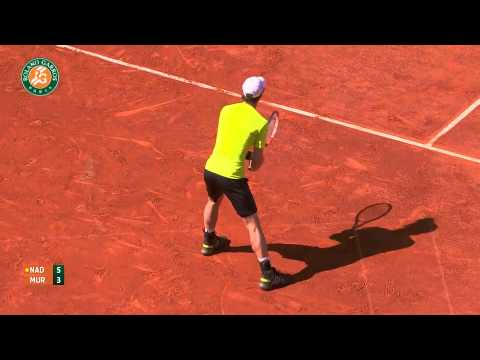 Roland Garros 2014 Friday2 Highlights Nadal Murray