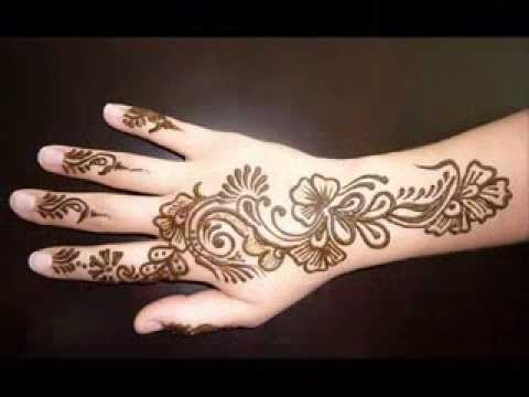 Women Mehndi designs for EID 2014 (hands)