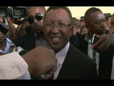 'A victory for democracy' says Madagascar's new president-elect