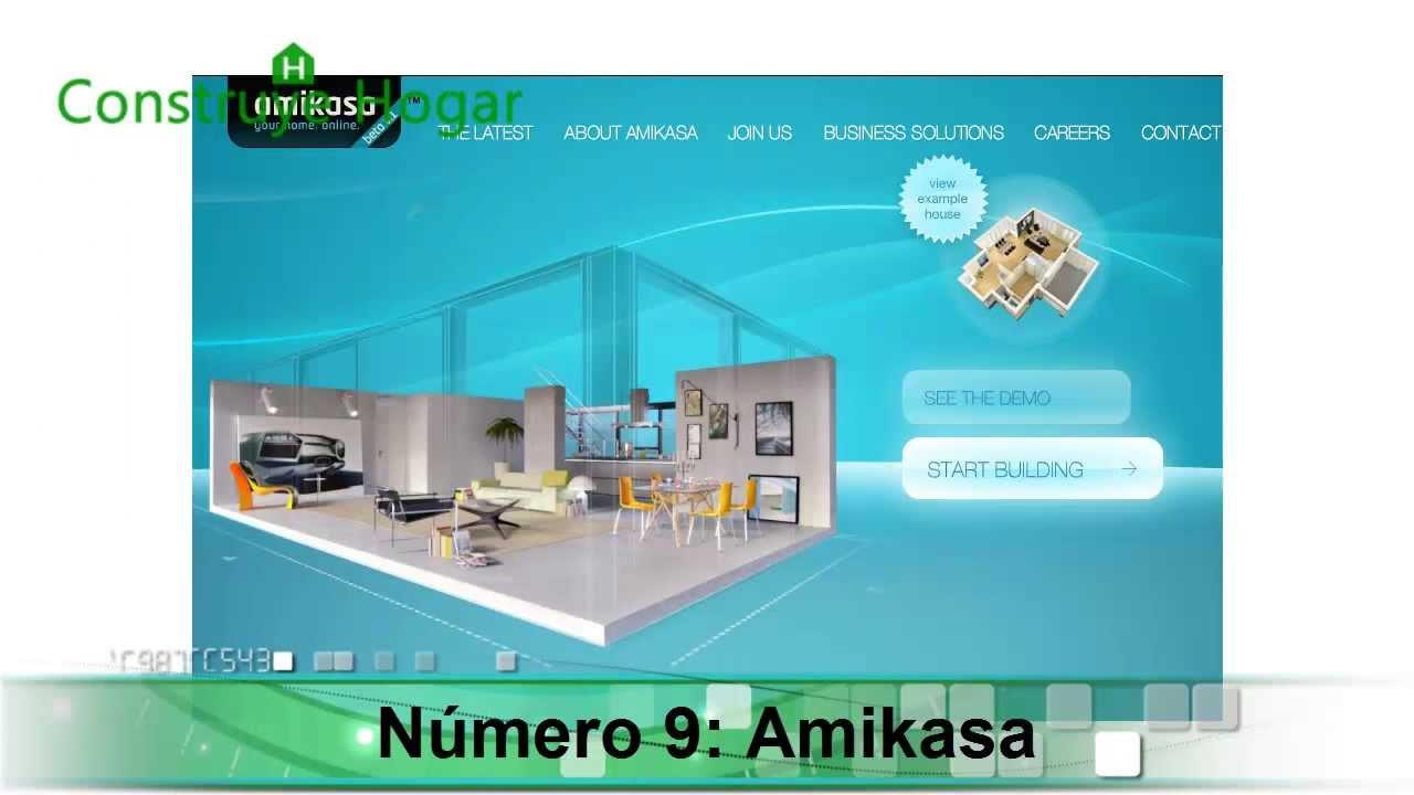 10 mejores aplicaciones para hacer planos de casas gratis youtube - Programas de diseno de interiores 3d gratis en espanol ...