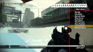 COD GHOST FREE UNLOCK ALL AND MOD MENU FOR SUBSCRIBERS