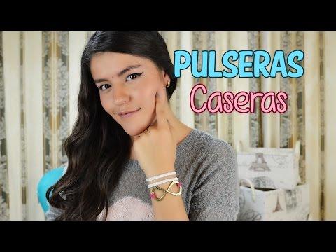 HERMOSAS PULSERAS EN CASA   DIY MUSAS