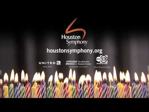 The Houston Symphony Turns 100 on June 21, 2013!