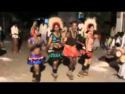 Tamil Koravan Korathi Night Dance