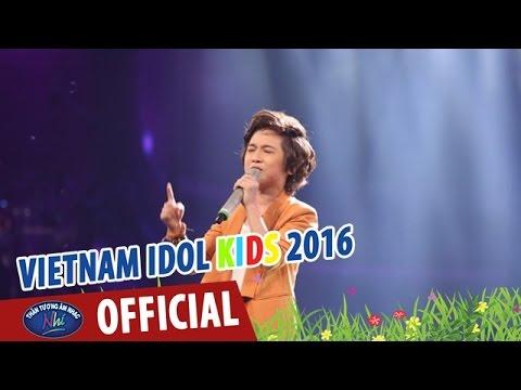 VIETNAM IDOL KIDS 2016 - GALA 6 - SAU TẤT CẢ - GIA KHIÊM