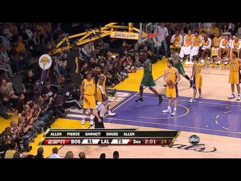 Boston Celtics amazing 24 point comeback vs Lakers (2008 NBA Finals Game 4)