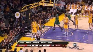 Boston Celtics' Amazing 24 Point Comeback Vs Lakers (2008