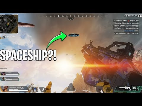 Spaceship Spotted in Apex Legends!