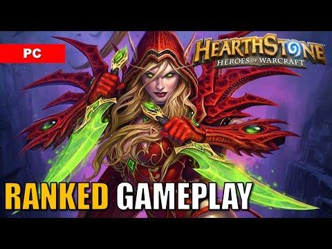 HEARTHSTONE Gameplay Casual Standard Deck: Rogue vs Hunter