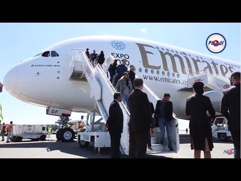 ايرباص A380.. أضخم طائرة إماراتية تحط بالدار البيضاء