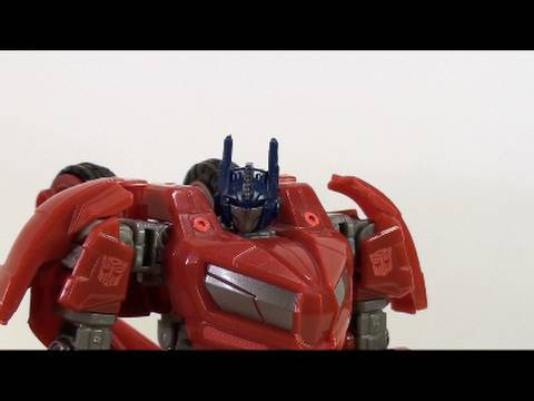 Video Review of the Transformers Generations; War for Cybertron Optimus Prime