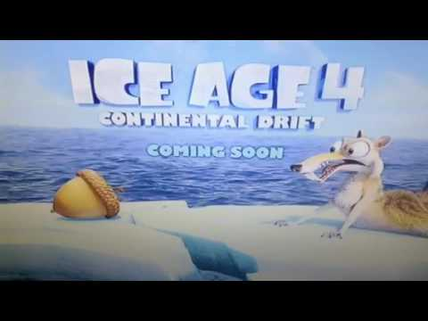 Opening To Ice Age A Mammoth Christmas 2011 UK DVD
