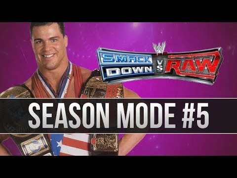 WWE SvR Season Mode - w/ Kurt Angle (Episode 5)