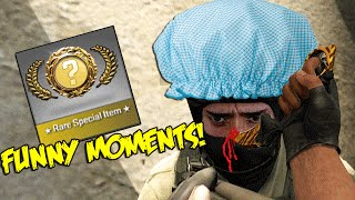 CS GO FUNNY MOMENTS - CASE UNBOXING FAILS & RAGE , NEW KNIFE ,SHOWER CAP CT , BANNED (Funtage) - Duration: 8:16.