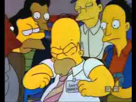 Симпсоны Гомер прикольная песенка.
