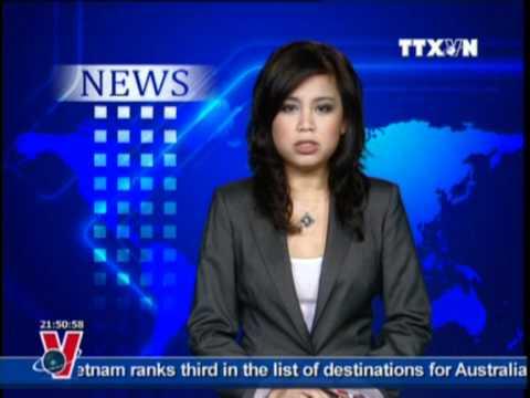 BẢN TIN TIẾNG ANH 01.10.2011, TTXVN, VNEWS, VNA, TRUYỀN HÌNH THÔNG TẤN, TTXVN