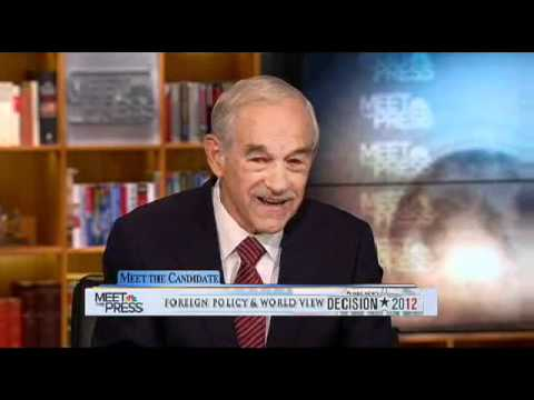 Ron Paul on Meet the Press 10/23/11