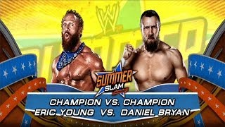 WWE 2K14: Daniel Bryan Vs Eric Young- Champion Vs Champion