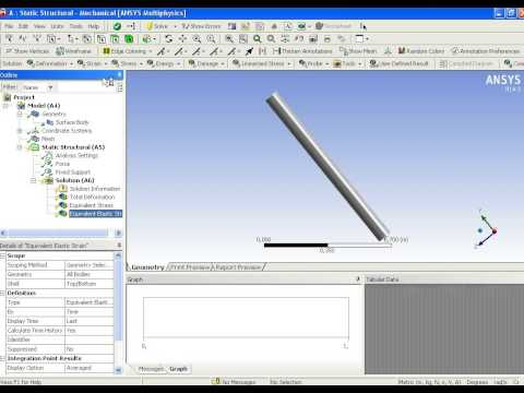Composite analysis with Ansys Workbench with ACP tool part 1/3