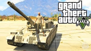 GTA 5: How To Steal A Tank! Best Ways To Steal A Rhino