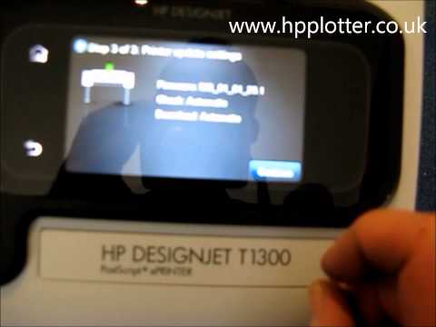 Designjet T1300 Series - Buy, Assemble, Setup & Configure your printer