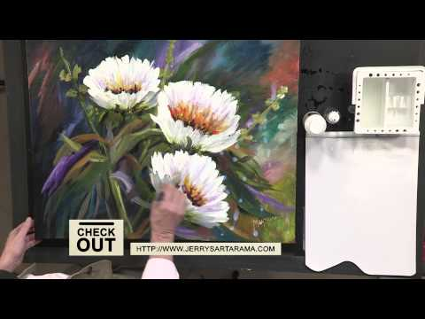 How to Use Gloss Varnish on your Painting with Allen Montague