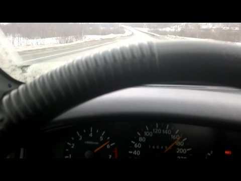 Разгон Toyota Carina E 0-180 км/ч