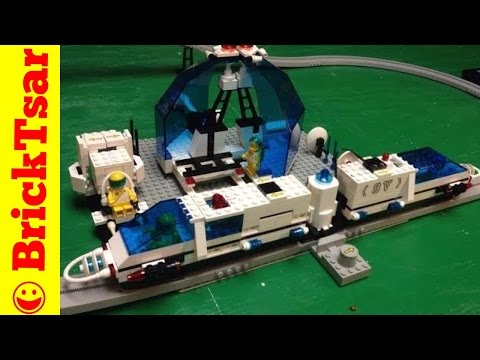 Lego Space 6990 Futuron Monorail Transport System Train from 1987
