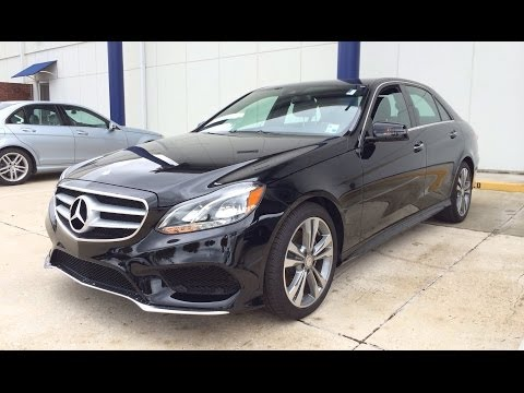 2014 Mercedes Benz E350 Start Up, Exhaust and In Depth Review
