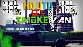 GTA 5 Online: How To Get Smoke On Water Van Rare Vehicle