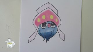 [Tutorial] How To Draw Inkay From Pokemon X Y