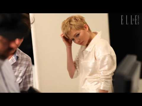 Michelle Williams ELLE December 2011