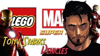 LEGO: Marvel Super Heroes Tony Starks Vehicles