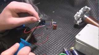 Basit bir Tesla bobini(Tesla Coil) nasıl yapılır? Bölüm 2