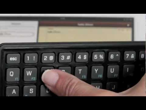 BlackBerry Mini Keyboard pairing with an iPad2