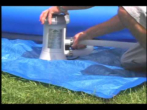 Intex Easy Set Pool Instructions Youtube