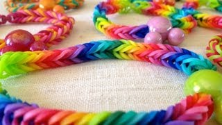 How To Make A Rainbow Loom Fishtail Bracelet Without The