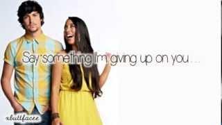 Alex & Sierra Say Something (LYRICS ON SCREEN)